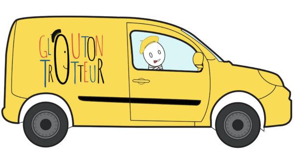 Camionnette glouton trotteur