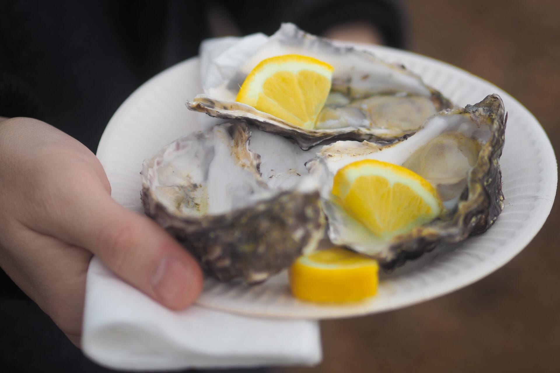 Les huîtres de Vendée