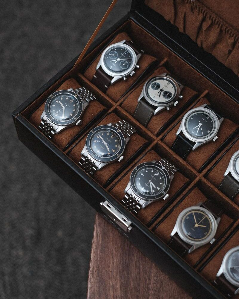 Baltic : des montres françaises