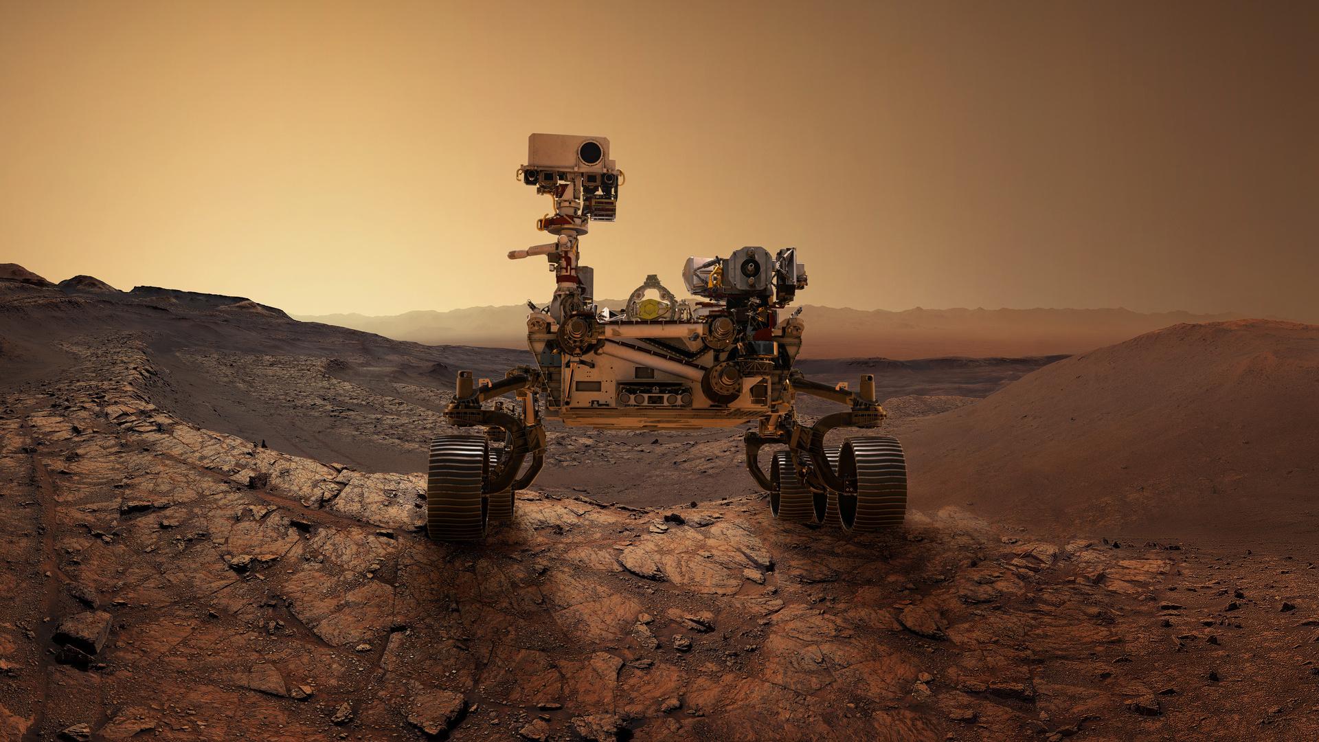 Mars 2020 Perseverance, supercam