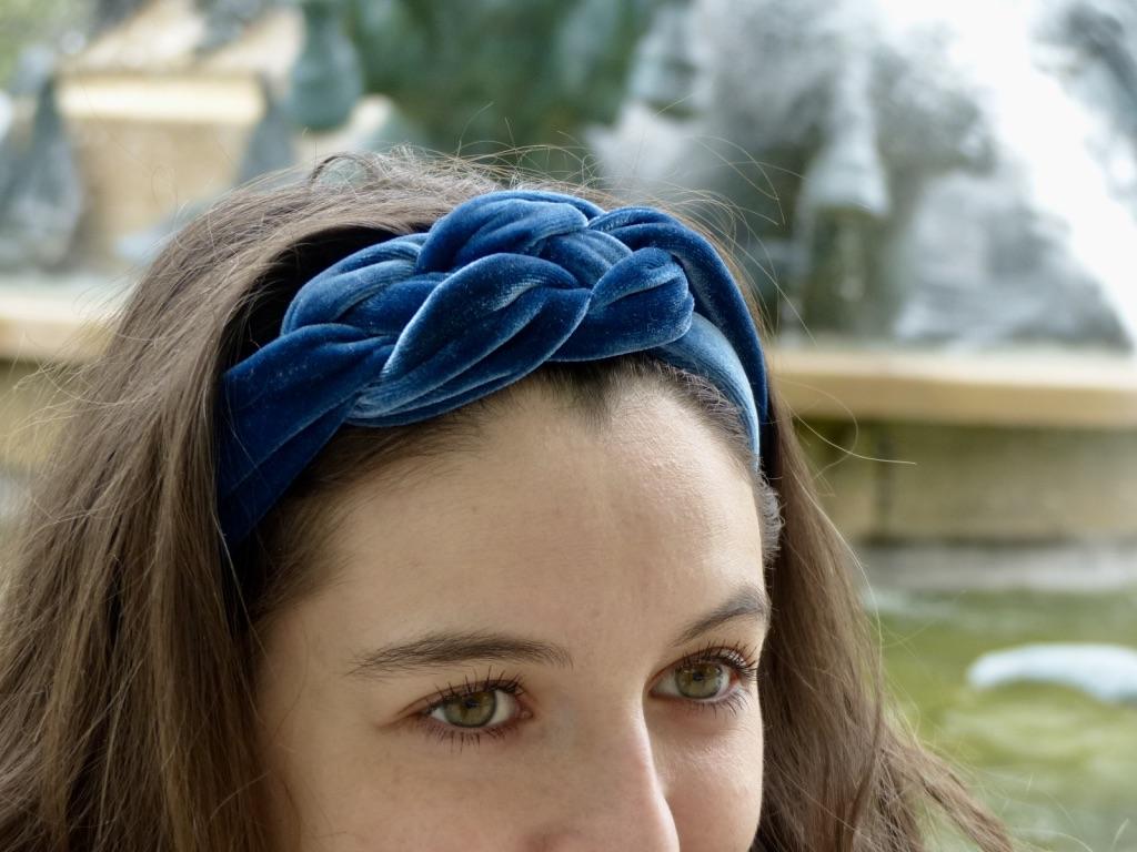 bandeaux bleux Eunoia