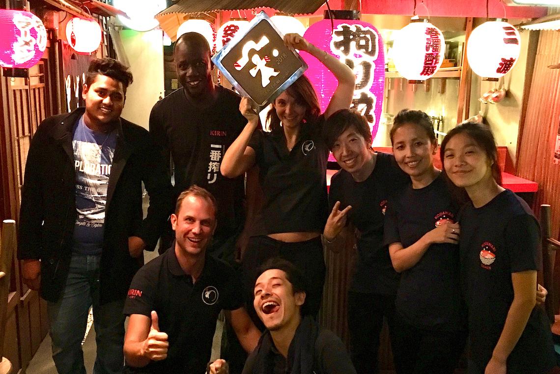l'équipe de Kodawari Ramen